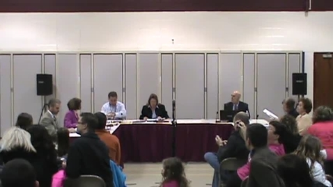 Thumbnail for entry BOE Meeting, 3/17/14 - Part 1