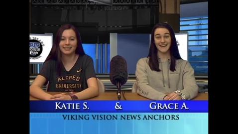 Thumbnail for entry VikingVisionNews 2-25-2020 #587