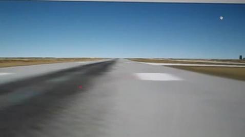 Thumbnail for entry Google Earth Flight Sim
