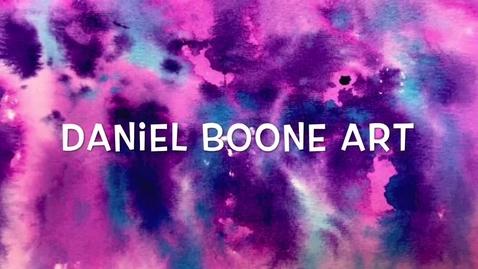 Thumbnail for entry Daniel Boone Art - Last Day of School 19-20