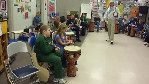 Thumbnail for entry African Drumming