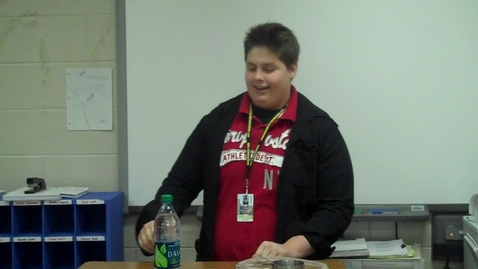 Thumbnail for entry Spring 2012 -- Using a Prop to Teach a Lesson -- Jock Owens -- Mr. Gilbert's class
