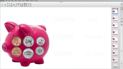 Thumbnail for entry Mr. Dan's Piggy Bank Money Video Lesson