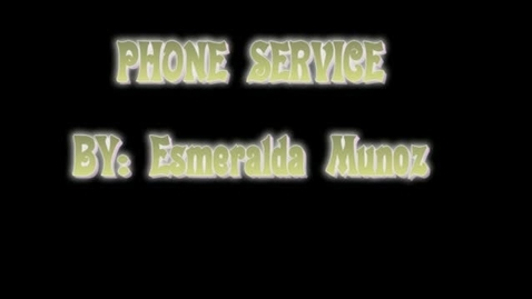 Thumbnail for entry Phone Service & Hot Cheetos