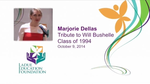 Thumbnail for entry Marjorie Dellas - LEF address