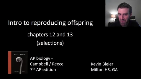 Thumbnail for entry Introduction to reproduction