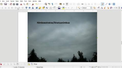Thumbnail for entry estratosnimbo or nimbostratus