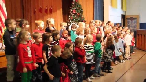 Thumbnail for entry Bernabi Kindergarten holiday concert