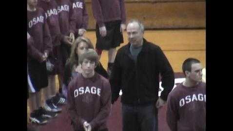 Thumbnail for entry Osage Wrestling Senior Night