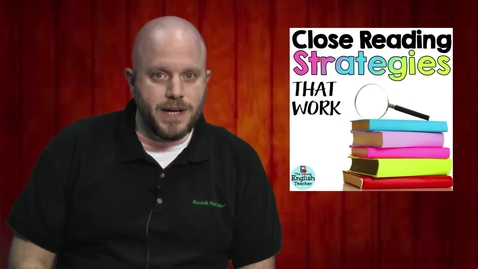 Thumbnail for entry Close Reading