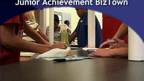 Thumbnail for entry Junior Achievement Biztown