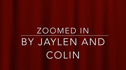 Thumbnail for entry Jaylen J. & Colin S.: Special Topic(B4)