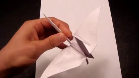 Thumbnail for entry How to Make a Paper Crane (Tsuru) - Origami
