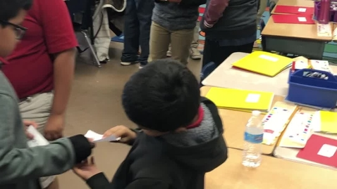 Thumbnail for entry 3rd Grade Social Studies - Quiz Quiz Trade- Cooperative Learning