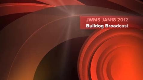 Thumbnail for entry Bulldog Broadcast 6 JAN18 2012