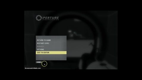 Thumbnail for entry Portal 2 Original Test Chamber 1 Test 1