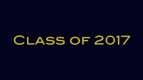 Thumbnail for entry Class of 2017 Elections
