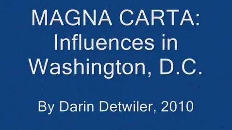 Thumbnail for entry Magna Carta and Washington, D.C.