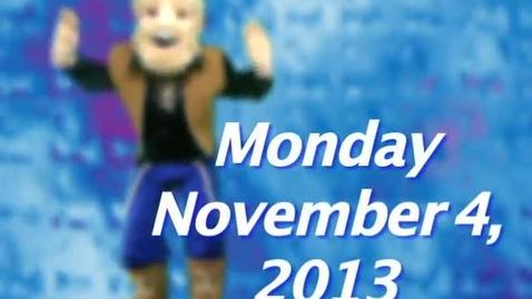 Thumbnail for entry Monday, November 4, 2013