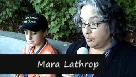 Thumbnail for entry Brennan LaBrie Is Interviewed By Mara Lathrop About His Q&A Session With Cloris Leachman