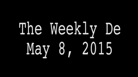 Thumbnail for entry 2015.05.08 - Weekly De