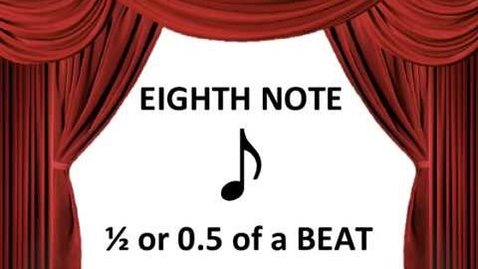 Thumbnail for entry Eighth Note and Beamed Eighth Note