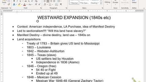 Thumbnail for entry APUSH Review 7: Expansion