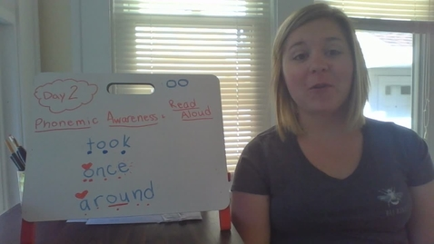 Thumbnail for entry Week 8 Day 2 Phonemic Awareness and Read-Aloud