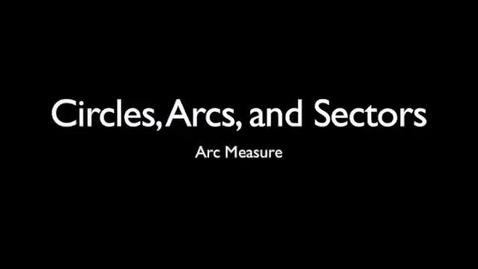 Thumbnail for entry Naming Arcs
