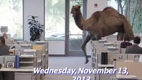 Thumbnail for entry Wednesday, November 13, 2013