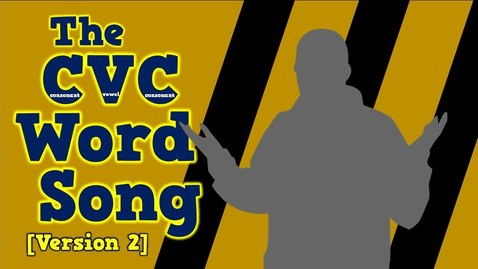 Thumbnail for entry The CVC Word Song (Version 2)