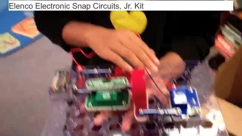 Thumbnail for entry Snap Circuits Student Demo