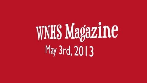 Thumbnail for entry WNHS-TV May 3, 2013