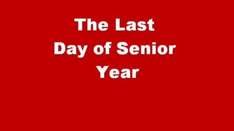 """Thumbnail for entry Darnell HAVPA PLD Stomp A3 2011 """"Last Day of Senior Year"""""""