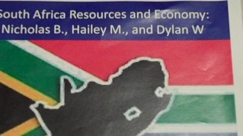 Thumbnail for entry O'Boyle - South Africa's Resources and Economy