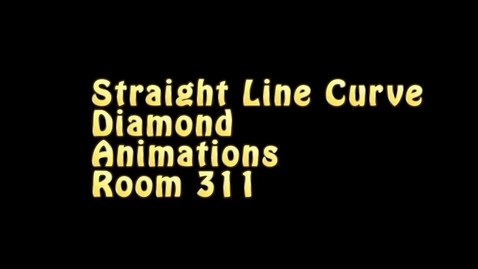 Thumbnail for entry Straight Line Curve Diamond Animation