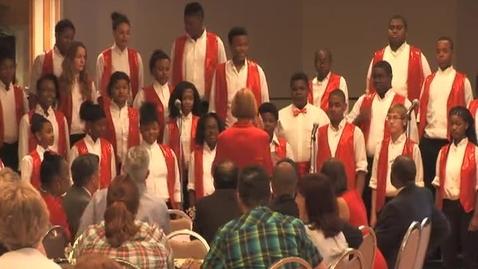 Thumbnail for entry Carr Lane Show Choir @ Volunteers Appreciation Event, Part 1