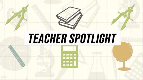 Thumbnail for entry Teacher spotlight Bertrand