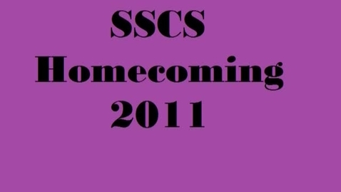 Thumbnail for entry 8 Home Coming Announcments