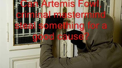 Thumbnail for entry 52 Artemis Fowl And The Time Paradox