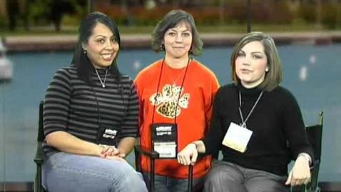 Thumbnail for entry Katie Bridges Interview at TCEA