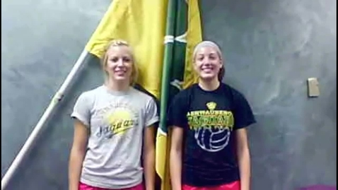 Thumbnail for entry Ashwaubenon Volleyball Welcome 2012