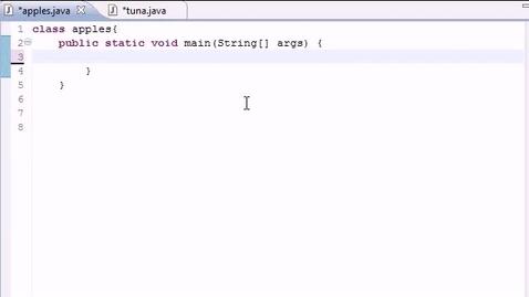 Thumbnail for entry Java Programming Tutorial - 17 - Constructors