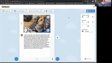 Thumbnail for entry writeReader day  4