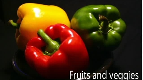 Thumbnail for entry Fruits and Veggies - WSCN (2010-2011)