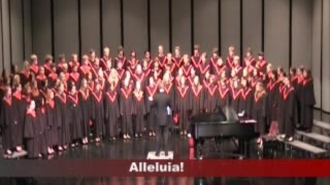 Thumbnail for entry BVHS Combined Choirs, Spring Concert, May 10, 2012