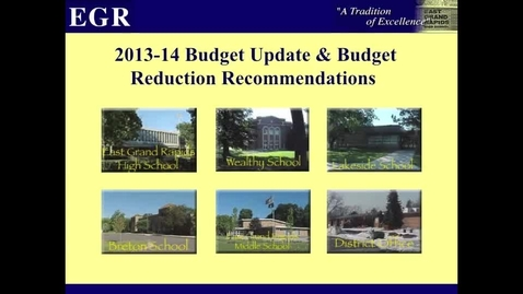 Thumbnail for entry EGRPS Budget 2013-2014