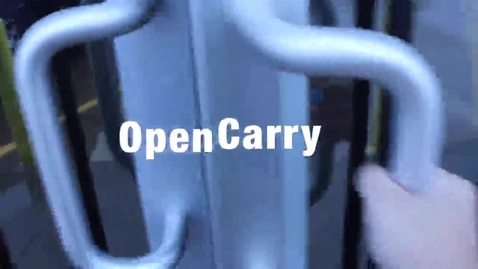 Thumbnail for entry Open Carry Opinions