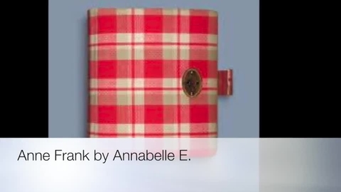Thumbnail for entry Anne Frank by Annabelle