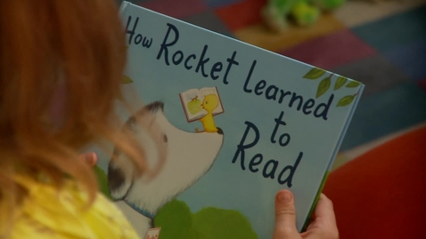 Thumbnail for entry How Rocket Learned to Read by Tad Hills